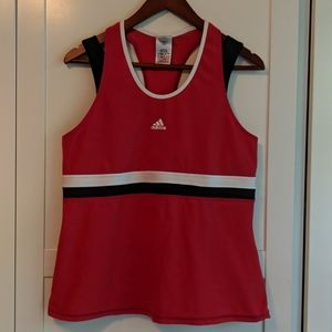Adidas climalite tank top with built in sports bra